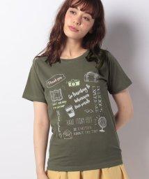 Afternoon Tea LIVING/トラベルロゴTシャツ/501036381