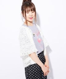 NICE CLAUP OUTLET/【one after another】おフェミなレースTOPS/501052112