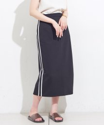 NICE CLAUP OUTLET/【natural couture】脇ライン入りゆるタイト/501052123