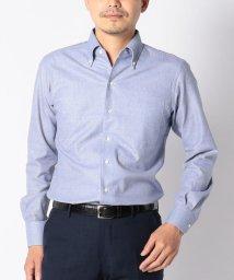 SHIPS MEN/SD: 【MONTI社製生地】カラミ イタリアンボタンダウンシャツ(ブルー)/501059407