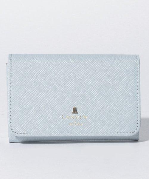LANVIN en Bleu(ランバンオンブルー)/リュクサンブール名刺入 480114/3839003