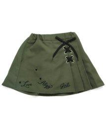 ALGY/裾ロゴレースアップスカパン/501057626