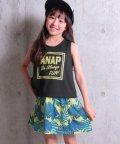 ANAP KIDS/リーフ柄ワンピース SET UP/501057846