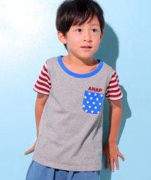 ANAP KIDS/フラッグパターンTシャツ/501057851