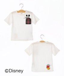 SHIPS KIDS/SHIPS KIDS:【ミッキーマウス】ポケット TEE(100~130cm)/501060738
