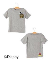 SHIPS KIDS/SHIPS KIDS:【ミッキーマウス】ポケット TEE(145~160cm)/501060739