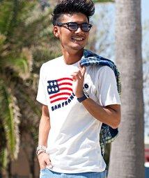 CavariA/CavariA【キャバリア】サガラ刺繍クルーネック半袖Tシャツ/501063261