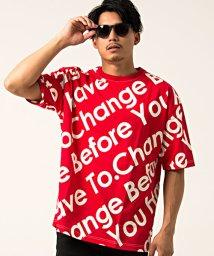 VICCI/VICCI【ビッチ】メッセージプリントビッグシルエットクルーネック半袖Tシャツ/501063275
