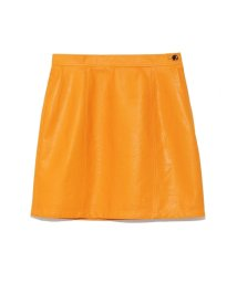 Lily Brown/ビニールボンディング台形スカート/501063670