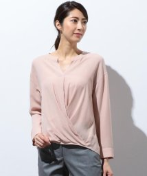ICB(LARGE SIZE)/【軽い着心地】Soft Georgette ブラウス/501064070