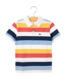 SHIPS KIDS/LACOSTE:ボーダー ピケ(100~130cm)/501064108