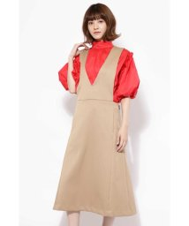 ROSE BUD/Aラインジャンパースカート/501064372