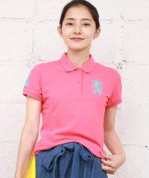 GIORDANOL/2018春夏商品【ライクラ素材使用】3Dライオン刺繍ポロシャツ/500681215