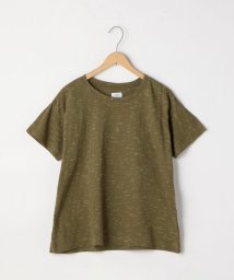 coen/ネップクルーネックTシャツ/501055637