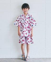 green label relaxing (Kids)/GLR スターフィッシュ柄ジンベイ/501064410
