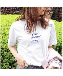MODE ROBE/英字プリントTシャツ/501066442