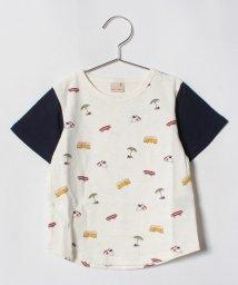 petit main/モチーフ総柄Tシャツ/501056470