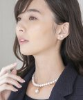 form forma/【慶弔両用】クリスタルパールネックレス【2WAY】/501057006