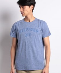 TOMMY HILFIGER MENS/NYロゴヘザーTシャツ/501057449
