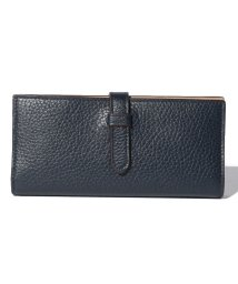 J&M DAVIDSON/【J&M DAVIDSON】二つ折り長財布 / ELONGATED TAB WALLET 【NEW NAVY】/501058589