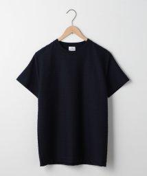 coen/タックボーダークルーネックTシャツ/501059766