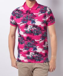 TOMMY HILFIGER MENS/FLORAL PRT POLO S/S SF/501063917