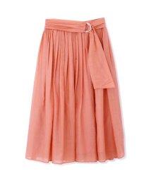 PROPORTION BODY DRESSING/オータムシアーローンワッシャープリーツスカート/501064276
