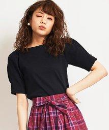 31 Sons de mode/【美人百花9月号掲載/Steady.9月号掲載】テレコパールドレスTシャツ/501066251