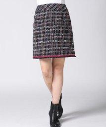 QUEENS COURT/【受注会限定】ブレード付きファンシータイトスカート/501066949