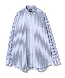 BEAMS MEN/BEAMS / ストライプ イージー ミニレギュラーシャツ/501070936