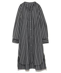snidel/オーバーサイズデザインシャツワンピース/501071206