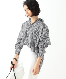 Demi-Luxe BEAMS/TICCA / ギンガムチェック スクエアビックシャツ/501007538