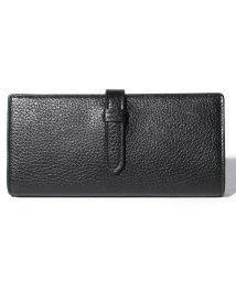 J&M DAVIDSON/【J&M DAVIDSON】二つ折り長財布 / ELONGATED TAB WALLET 【BLACK】/501058588
