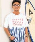 CavariA/CavariA【キャバリア】2色タイダイ染めクルーネック半袖Tシャツ/501072203