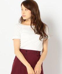 SHIPS WOMEN/ワッフルショートスリーブTシャツ/501072593