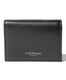 J&M DAVIDSON/【J&M DAVIDSON】二つ折り ミニ財布 / ONE FOLD WALLET 【BLACK】/501058576