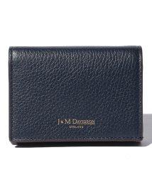 J&M DAVIDSON/【J&M DAVIDSON】二つ折り ミニ財布 / ONE FOLD WALLET 【NEW NAVY】/501058577