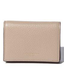 J&M DAVIDSON/【J&M DAVIDSON】二つ折り ミニ財布 / ONE FOLD WALLET 【SAHARA BEIGE】/501058578