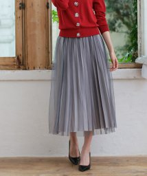 en recre/Special Price【Brahmin】チュールデザインスカート/501063589