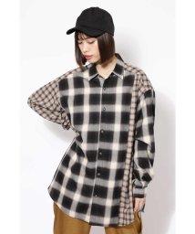 ROSE BUD/オーバーサイズシャツ/501073534