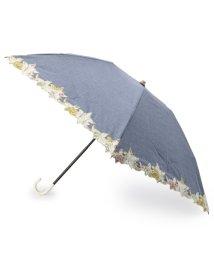 grove/フラワースカラップ折りたたみ傘/501075925