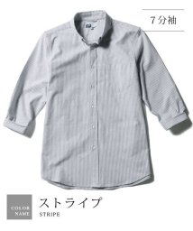 THE CASUAL/(スプ) SPU ボタンダウン先染めオックスフォードストレッチシャツ/500680463