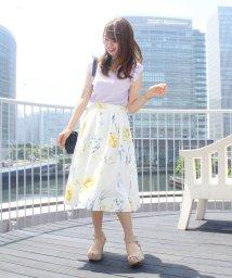 MISCH MASCH/花柄ミディースカート/501030191