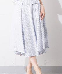 en recre/Special Price【B7】ストライプフレアスカート※セットアップ対応商品/501063618