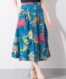 en recre/Special Price【B7】フラワープリントスカート/501063619