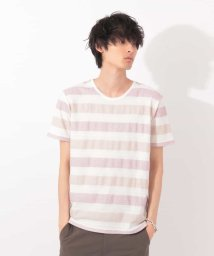 MK homme/ボーダーカットソー/501077240