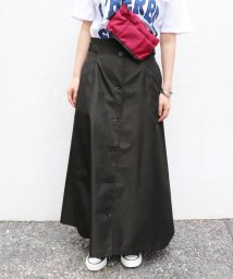 SLOBE IENA/サイドバックルフロントボタンスカート◆/501078808