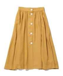 ROPE' mademoiselle/【otonaMUSE5月号掲載】フロントボタンギャザースカート/500834972