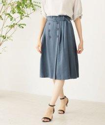 NATURAL BEAUTY/◆[WEB限定商品]ディアーナサテンスカート/501077158
