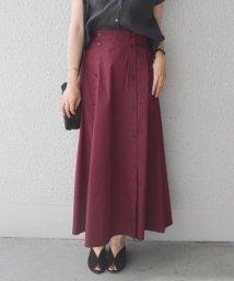 SHIPS WOMEN/フロントボタンスカート/501079636